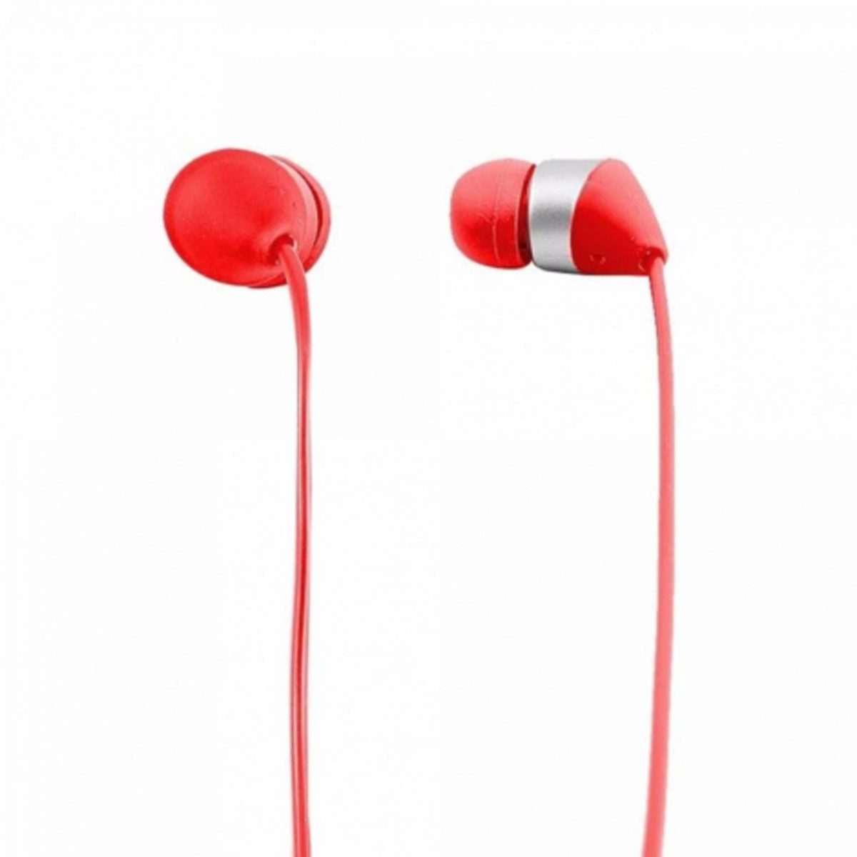 Audionic Red Universal Earphone With Extra Bass - T-40