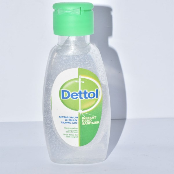 Dettol Instant Hand Sanitizer Kills Bacteria 50ml LP1O40