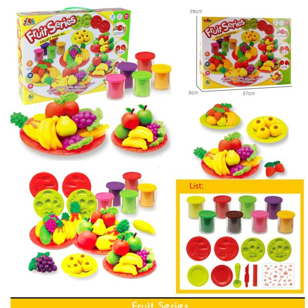 Fruit Series Collect Them All Grape, Litchi, Pineapple, Strawberry, Banana, Pomelo 5801A-A83S5