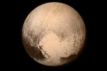 The heart on the surface of Pluto