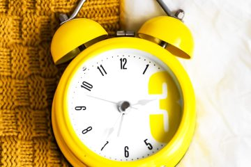 Yellow alarm clock on a table by Laura Chouette via Unsplash