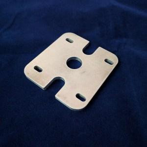 LulzBot dual v2 mount plate PP-MP0087