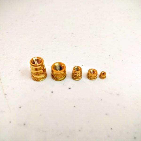 Metric Brass Heat-Set Insert for Plastics mcmaster