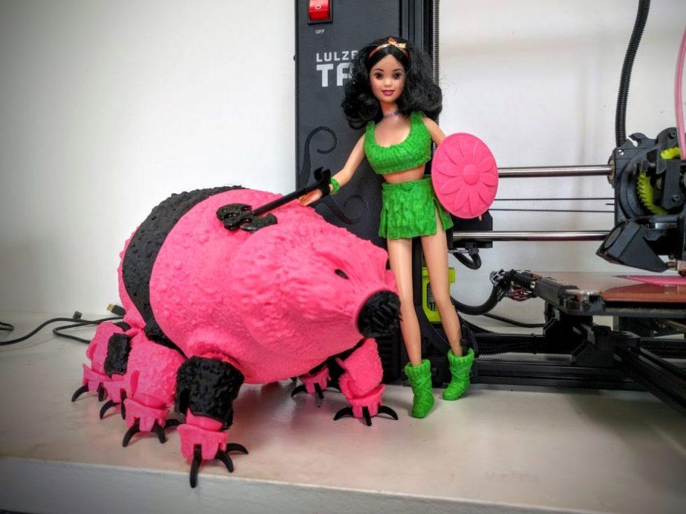 tardigrade barbie 3d print (1)