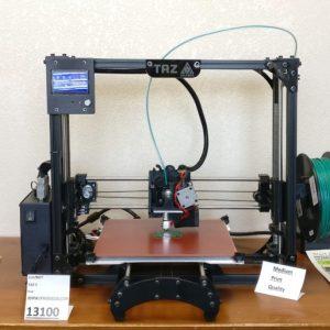 Lulzbot TAZ 5 3D Printer 13100 Front