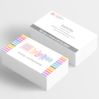 lularoe approved business card for independent fashion consultant