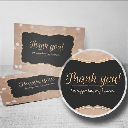 promote your brand and grow your business by saying thank you, handwritten thank you notes