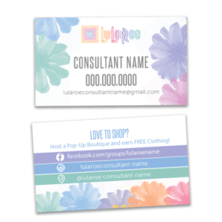 lularoe business card design