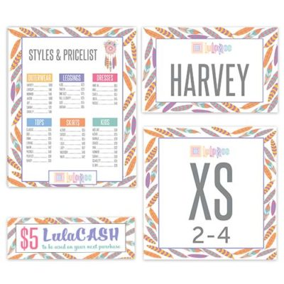 lularoe business printable instant download feathers price list and care instrucitons