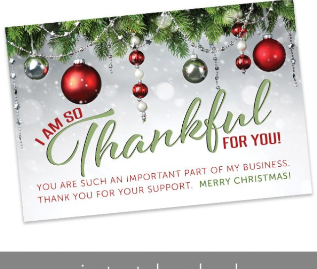 Holiday Thank You Card Rodan And Fields Thank You Card Rodan And Fields Holiday