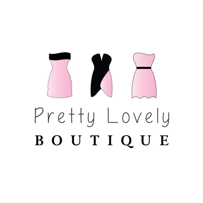 boutique logo watermark branding, custom designed boutique logo