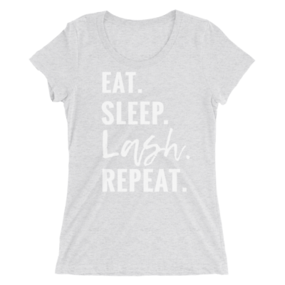 eat sleep lash repeat, rodan and fields business shirt, lashes shirt, younique business shirt, caution I'm lashing out