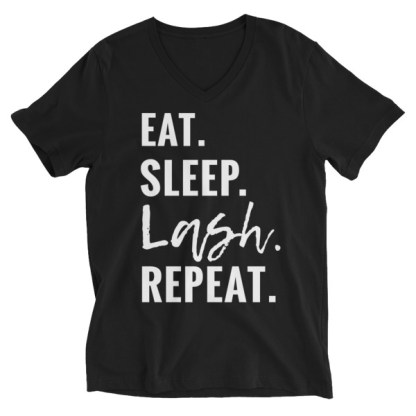 eat sleep lash repeat, rodan and fields business shirt, lashes shirt, younique business shirt