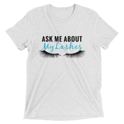ask me about my lashes, lashes shirt, rodan and fields business, rodan and fields lashes shirt