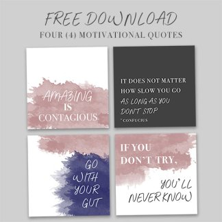motivational quote pack sample, free download, free motivational quote download