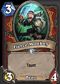 hearthstone fierce monkey