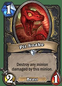 Hearthstone Pit Snake