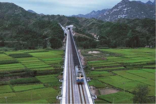 Transport uhlí po železnici v Číně (Shenhua Group)