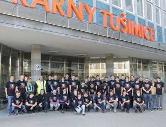 Studenti skládali maturitu v elektrárně