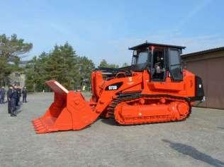 Cat 973D Steel Mill 02