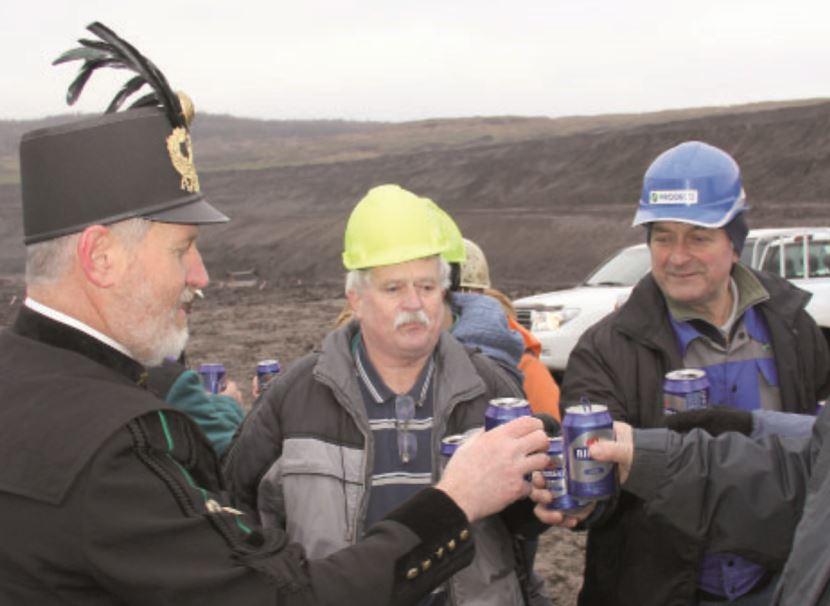 přípitek Czech Coal