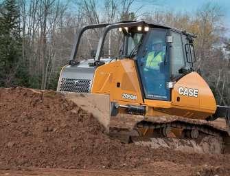CASE vyrukoval s novým buldozerem