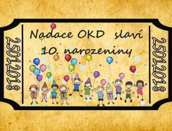 Nadace OKD slaví desáté narozeniny