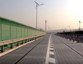 V Číně rozkradli solární silnici