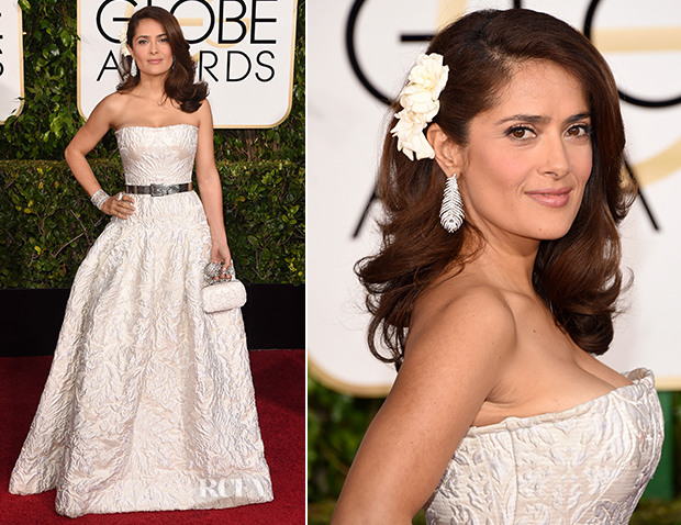 Salma-Hayek-In-Alexander-McQueen-2015-Golden-Globe-Awards