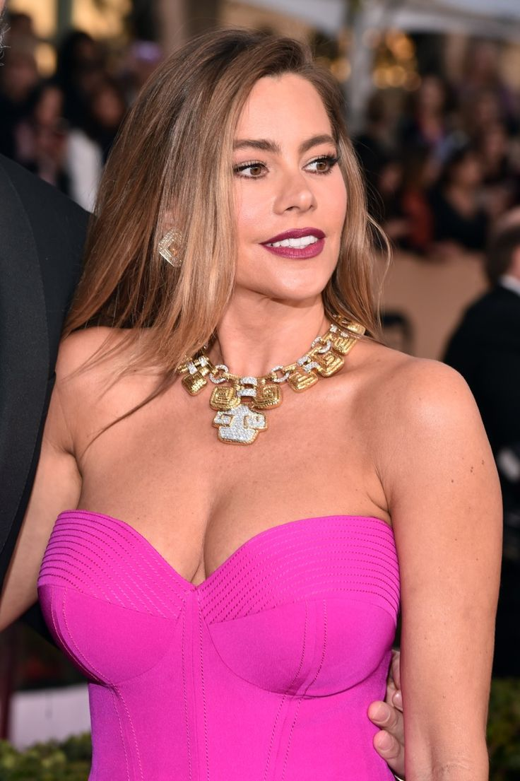 LOS ANGELES, CA - JANUARY 30:  Actress Sofia Vergara attends the 22nd Annual Screen Actors Guild Awards at The Shrine Auditorium on January 30, 2016 in Los Angeles, California.  (Photo by Alberto E. Rodriguez/Getty Images)