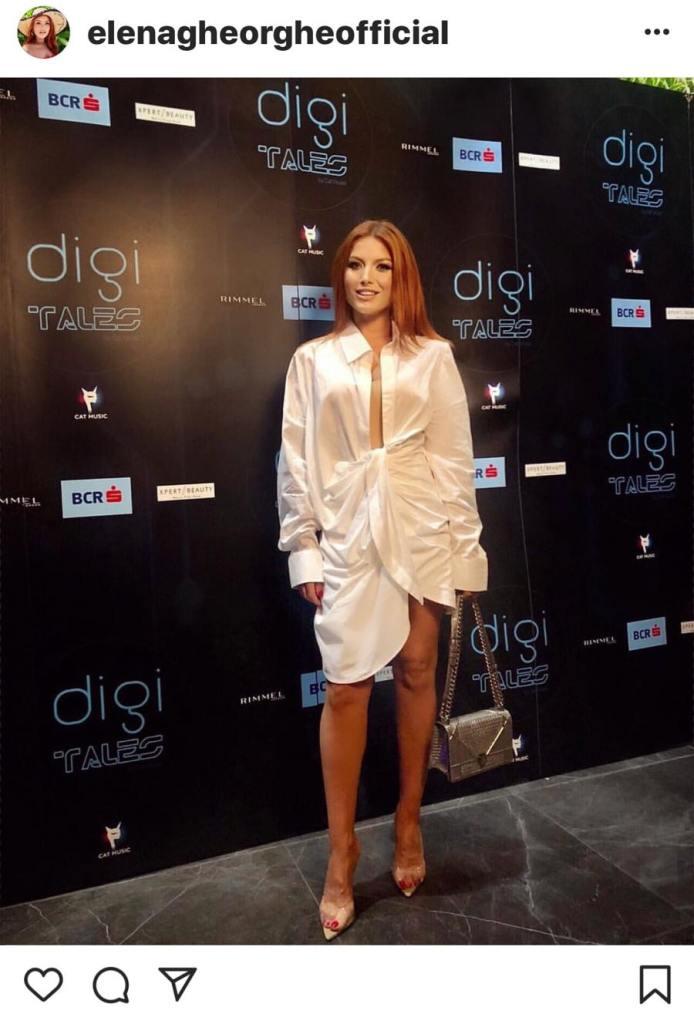 Elena Gheorghe a primit trofeul WOW