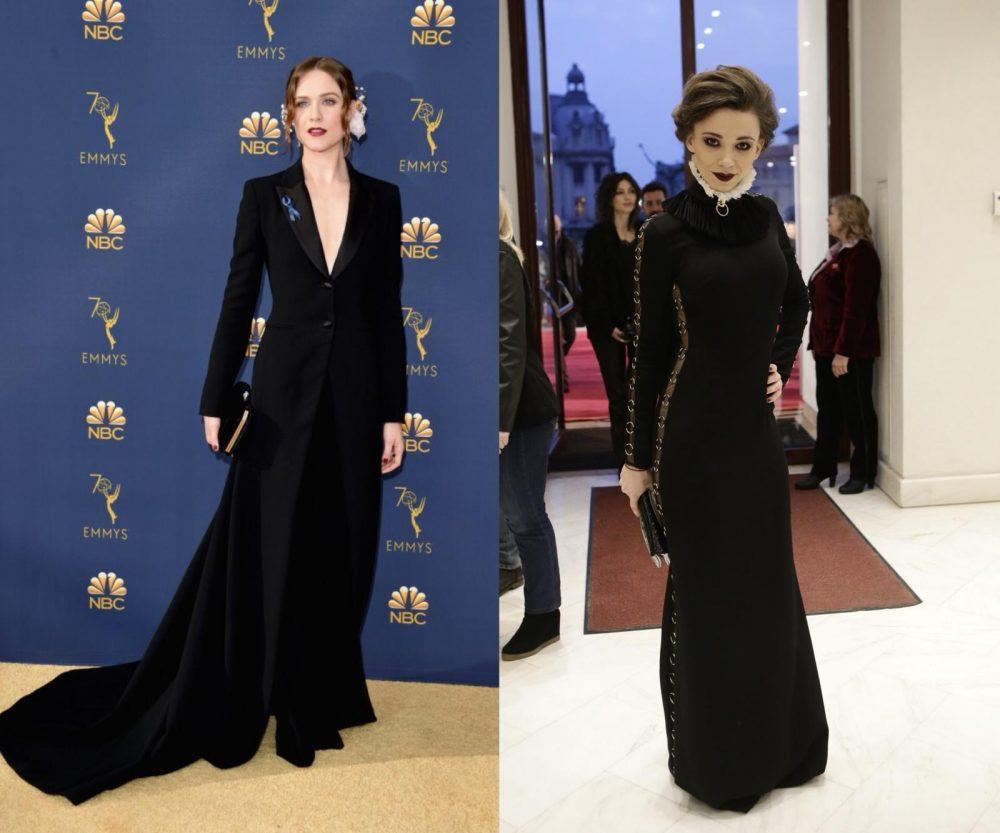 Evan Rachel Wood la Premiile Emmy 2018 și Ela Ionescu la Premiile Gopo 2018