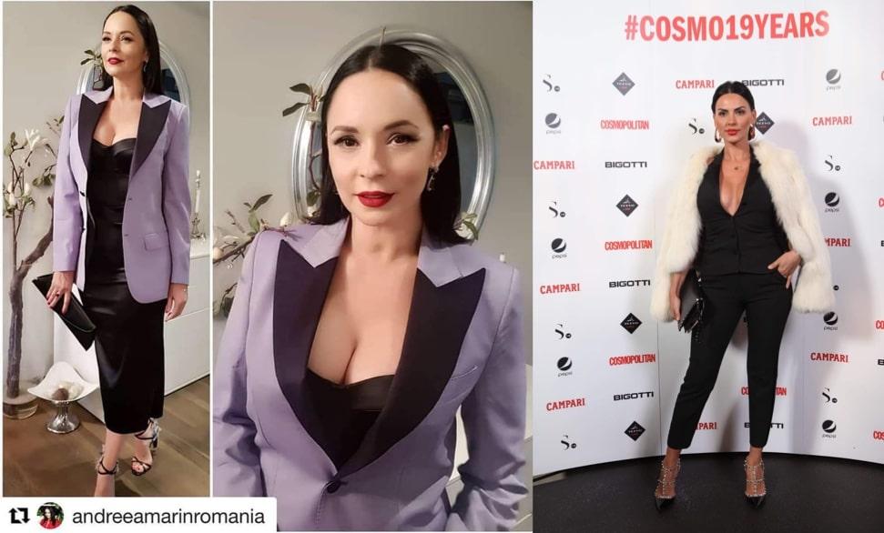 Andreea Marin și Lavinia Pîrva se inspiră una de la cealaltă din punct de vedere al vestimentațiilor