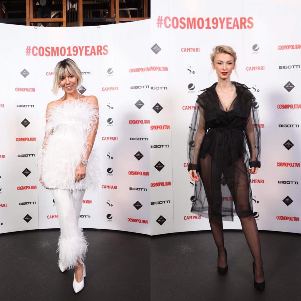 Sore și Andreea Bălan, la petrecerea Cosmopolitan