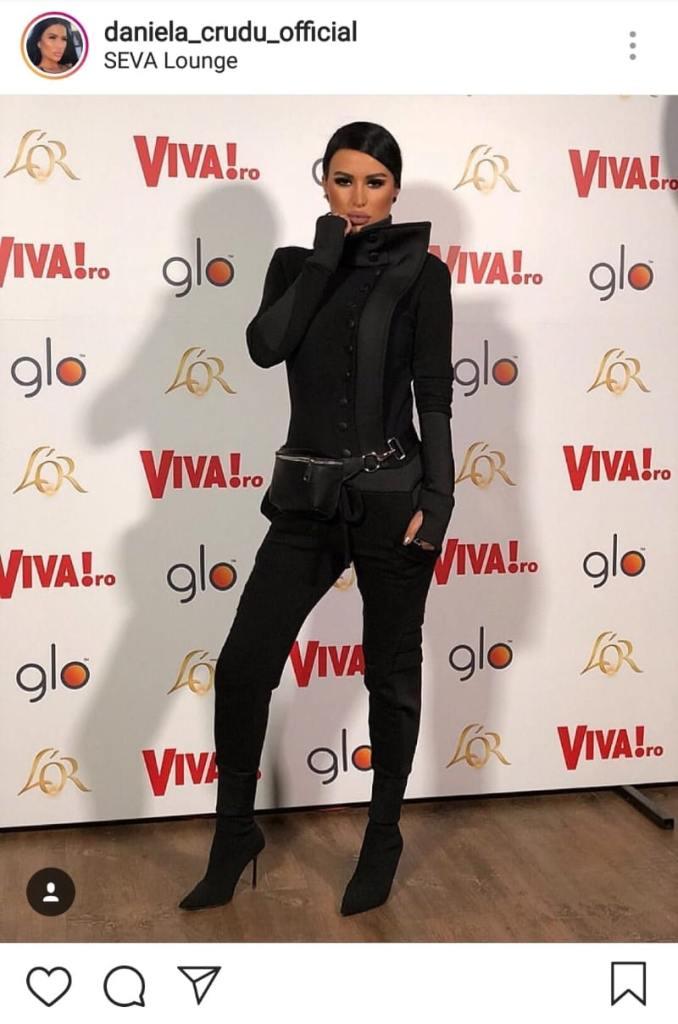 Daniela Crudu, la evenimentul VIVA