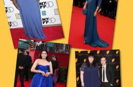 Femei plinuțe îmbrăcate în albastru
