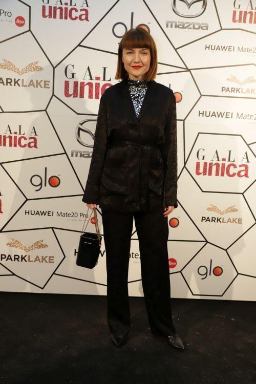 Alexandra Ungureanu, la evenimentul Unica