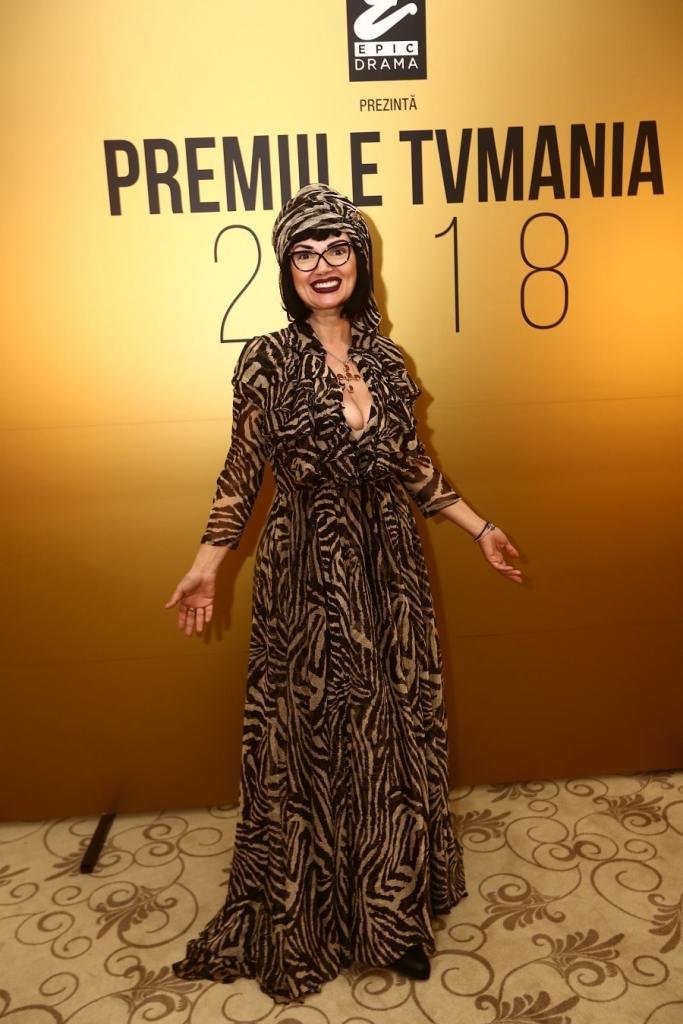 Ozana Barabancea la evenimentul TV Mania