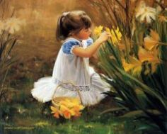 painting_children_kjb_DonaldZolan_61FlowersforMother_sm