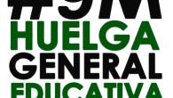 Hay sobradas razones para que Izquierda Unida impulse y participe activamente en esta huelga general y unitaria convocada por todos los sectores de la comunidad educativa el 9 de marzo y apoyada en Motril por CGT, Coordinadora de Base Estudiantil, Docentes en Acción, Frente de Estudiantes, Marea Verde, PADEI, Sindicato de Estudiantes, USTEA, Colectivo estudiantil de la Costa Tropical, Izquierda Unida Motril, Podemos Motril, Ganemos CCOO, UJCE Salobreña-Motril, Juventud Morada y Damos la Cara Motril. Educación pública para todos y todas. NO A LA LOMCE