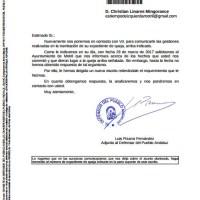 Reclamamos a Flor Almón que atienda las peticiones del Defensor del Pueblo Andaluz