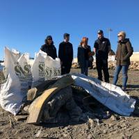 Izquierda Unida propone la mejora integral de la Playa de las Azucenas y la conservación de su espacio natural