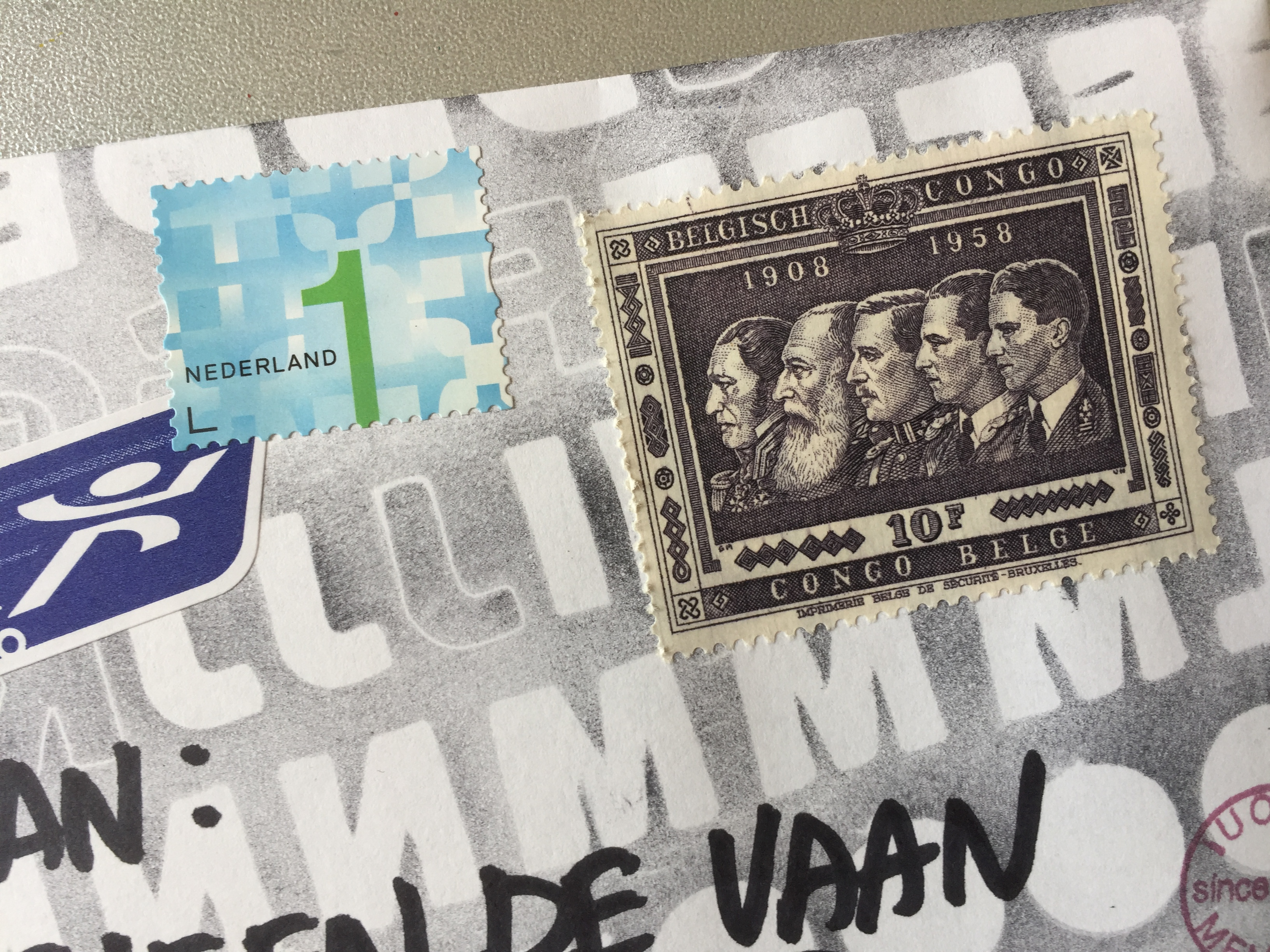 Mail Art Visual Outgoing