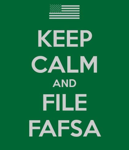 Fafsa is stressful only if you let it be! Photo courtesy of KeepCalm-O-Matic