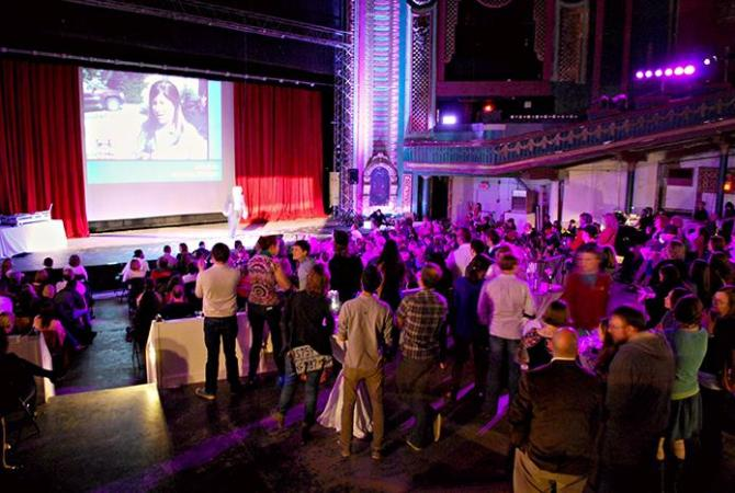 Ignite Michiana at the State Theatre in downtown South Bend. Preface Photo