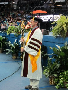 Highlights from the 2013 IUSB Commencement Ceremony at the Joyce Center Field House. (Photo provided)
