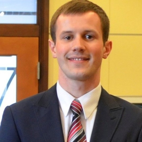 Justin Chupp, sole candidate for president of the SGA