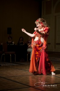 Ruby Jazayre performs at the Las Vegas Belly Dance Festival and Intensive Convention. Photo Credit/Lee Corkett