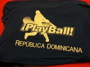 One of the shirts that Steve wore while in the Dominican Republic.
