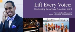 "Guest artists and IU South Bend Symphonic and Gospel Choirs will perform at the eighth annual ""Lift Every Voice"" concert."